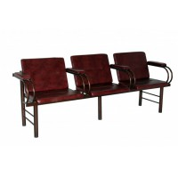 Кресло трёх секц-ное с подлокотником и откид.сиденьем